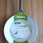Wearever ceramic pan handle outside
