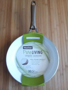 Wearever ceramic cookware 10.5 inch pan